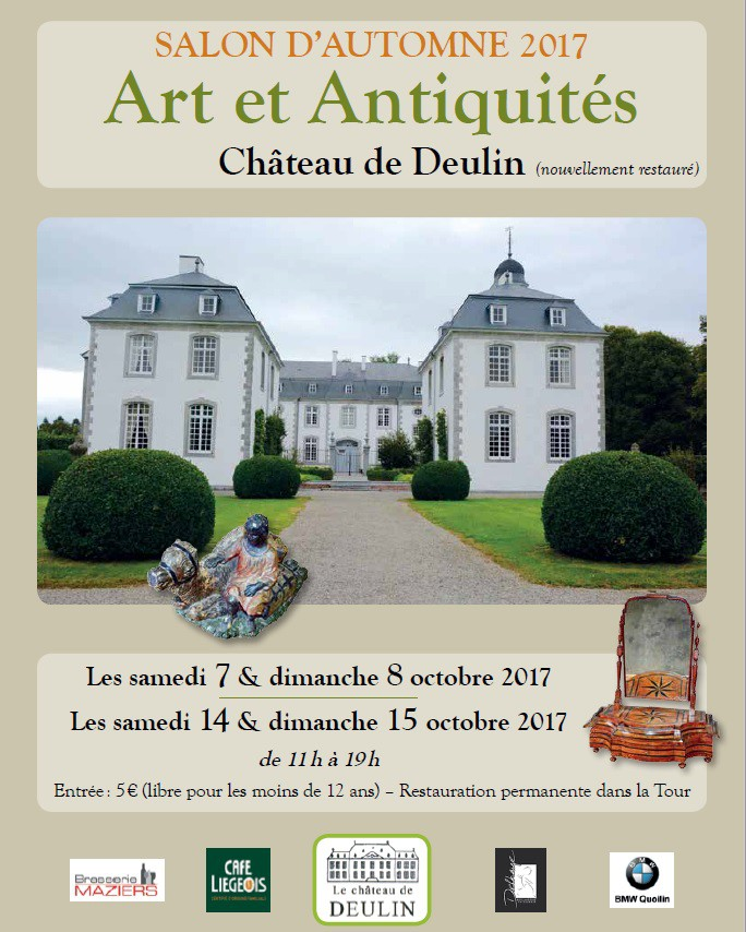 Chateau de deulin v nements for Salon antiquaires 2017